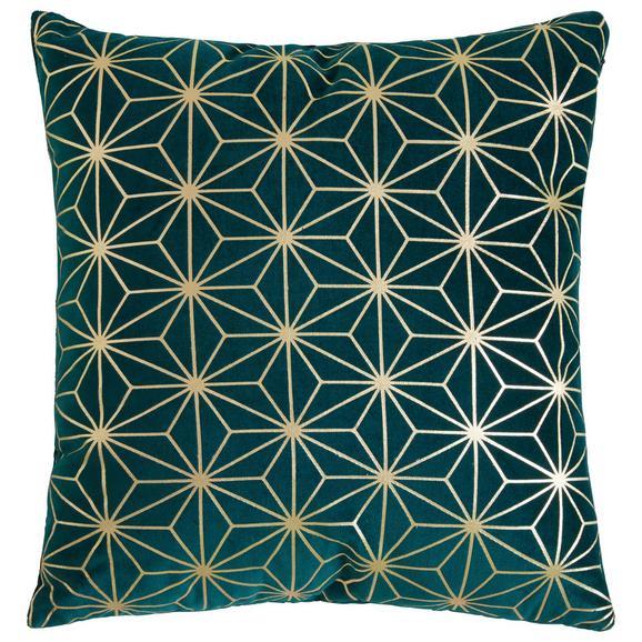 Zierkissen Kate in Grün - Grün, Trend, Textil (40/40cm) - Mömax modern living