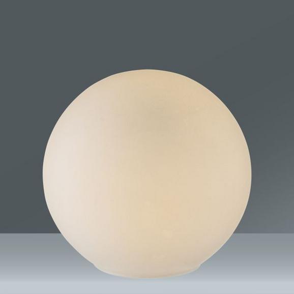 Namizna Svetilka Balla - bela, steklo (20cm) - Mömax modern living