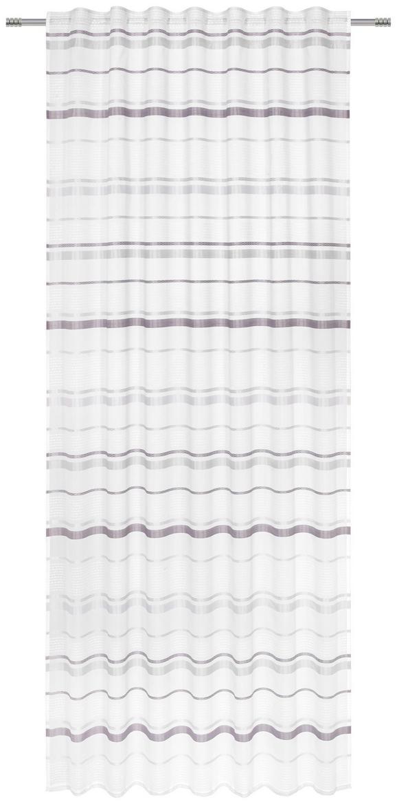 Končana Zavesa Adele -top- - siva, Konvencionalno, tekstil (140/245cm) - Mömax modern living