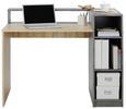 Schreibtisch Grau/Eichefarben - Eichefarben/Grau, MODERN, Holz (120/91,5/67cm) - Mömax modern living
