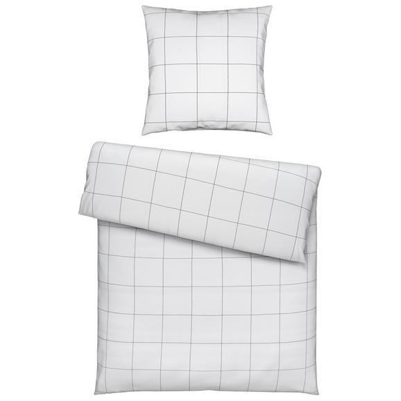 Bettwäsche Lines in Weiß ca. 135x200cm - Textil (135/200/1cm) - Mömax modern living