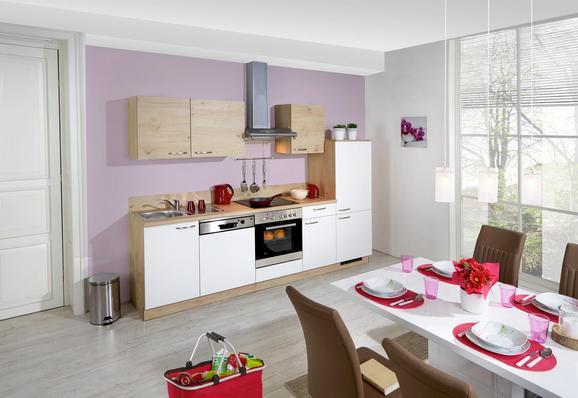 Kuhinjski Blok Win/plan - bela/hrast, Moderno, leseni material (280cm) - EXPRESS