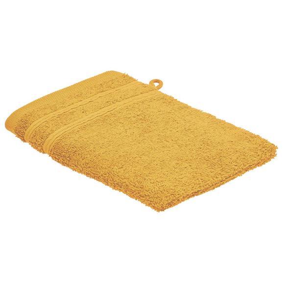 Rokavica Za Umivanje Melanie - rumena, tekstil (16/21cm) - Mömax modern living