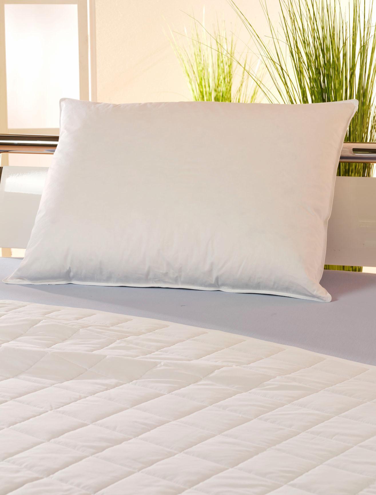 Fejpárna Hoch - fehér, textil (70/90cm) - MÖMAX modern living