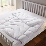 Sommerbettdecke Irisette 135x200cm - Weiß, KONVENTIONELL, Textil (135 x 200cm) - IRISETTE