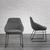 Stuhl Vivian - Schwarz/Grau, MODERN, Holz/Textil (58,5/83,5/61cm) - Mömax modern living