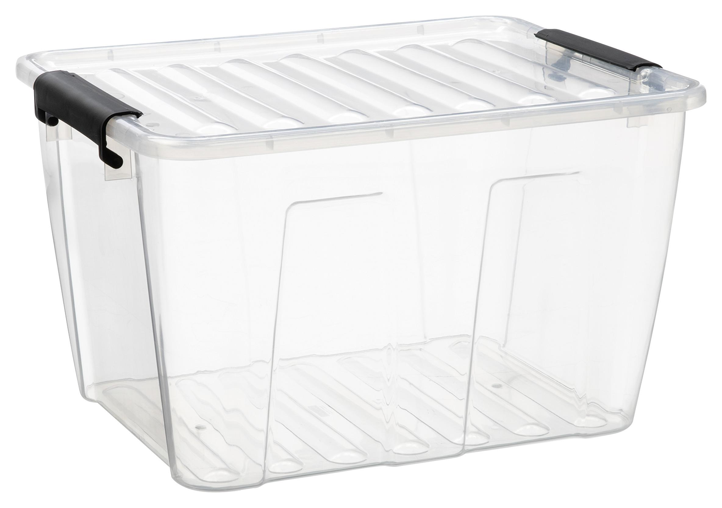 Image of Box mit Deckel Betty in Transparent ca. 15l