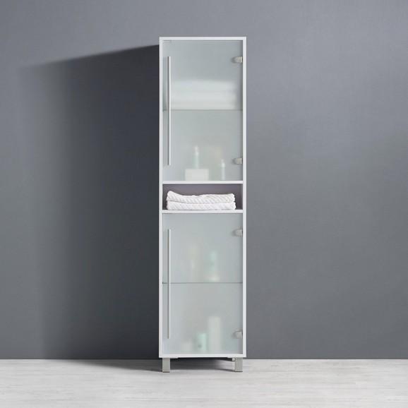 badezimmerschrank basic wei modern glasholzwerkstoff 4417335cm - Badezimmerschrank
