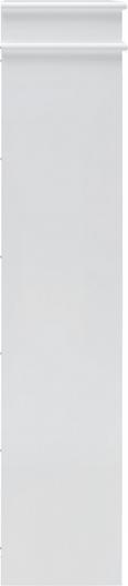 Schuhschrank Basic - Weiß, MODERN, Holz (55/119/25cm) - MÖMAX modern living