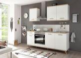 Kuhinjski Blok Quince - bela/hrast sonoma, Moderno, leseni material (210/211/60cm) - Modern Living
