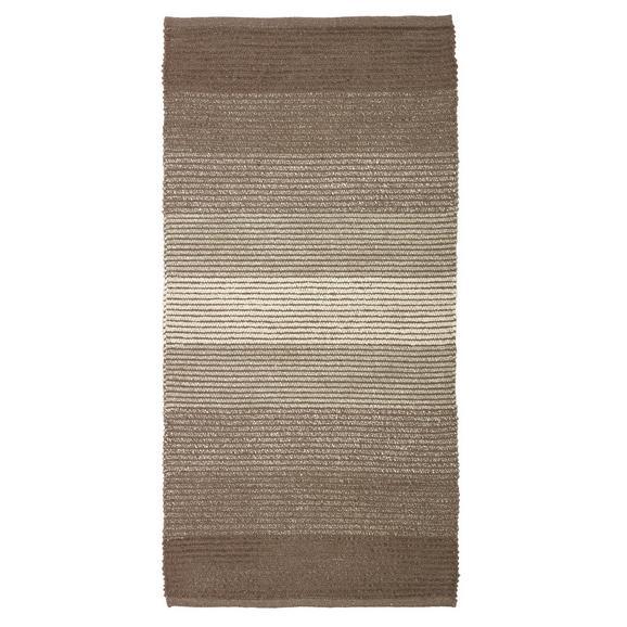 Rongyszőnyeg Malto 100/150 - Bézs, modern, Textil (100/150cm) - Mömax modern living