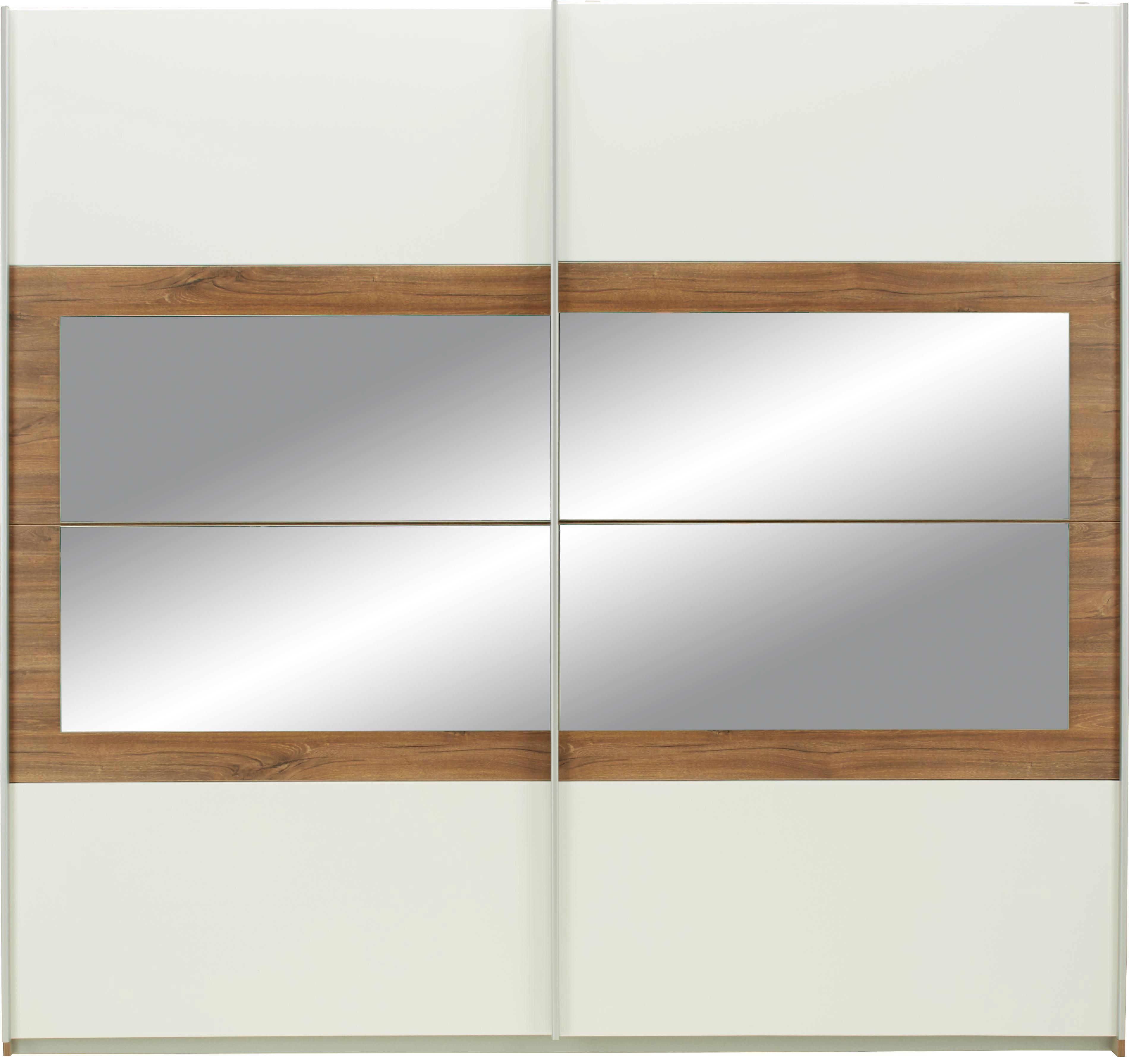 Tolóajtós Szekrény Venlo Kétajtós Alpesi Fehér - konvencionális, faanyagok (226/210/62cm) - BASED