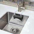 Schwammhalter Flexy in Weiß. - Weiß, MODERN, Kunststoff/Metall (11/25,5cm) - Mömax modern living