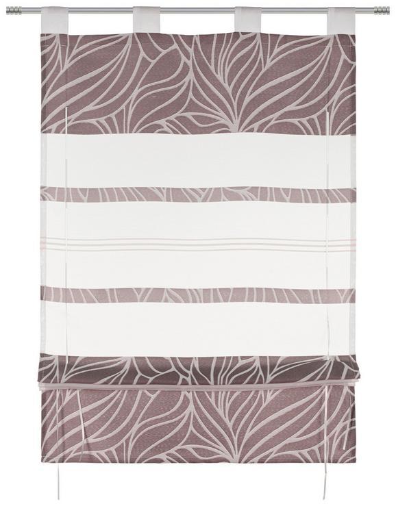 Bändchenrollo Anita, ca. 60x140cm - Grau, KONVENTIONELL, Textil (60/140cm) - Mömax modern living