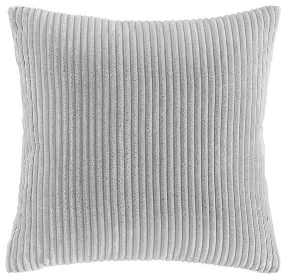 Zierkissen Layla 45x45cm - Hellgrau, MODERN, Textil (45/45cm) - MÖMAX modern living