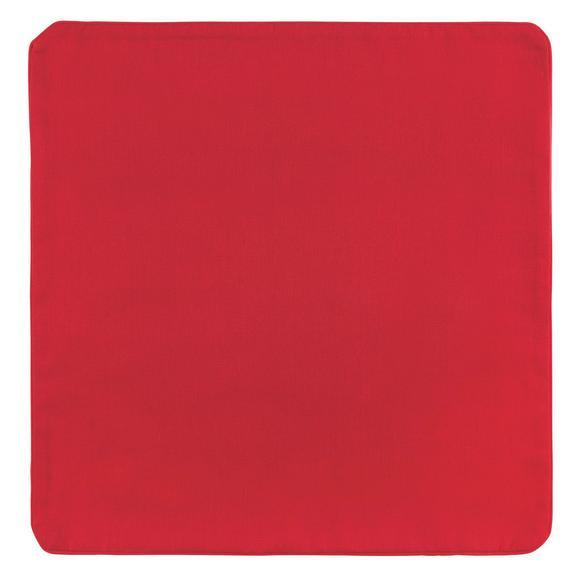 Párnahuzat Steffi - Piros, Textil (40/40cm) - Mömax modern living