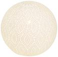 Tischleuchte Askja, max. 25 Watt - Weiß, Keramik (21/19cm)