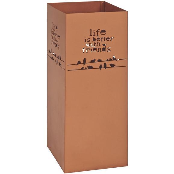 Schirmständer in Kupferfarben - Kupferfarben, LIFESTYLE, Metall (16/48/16cm) - Mömax modern living