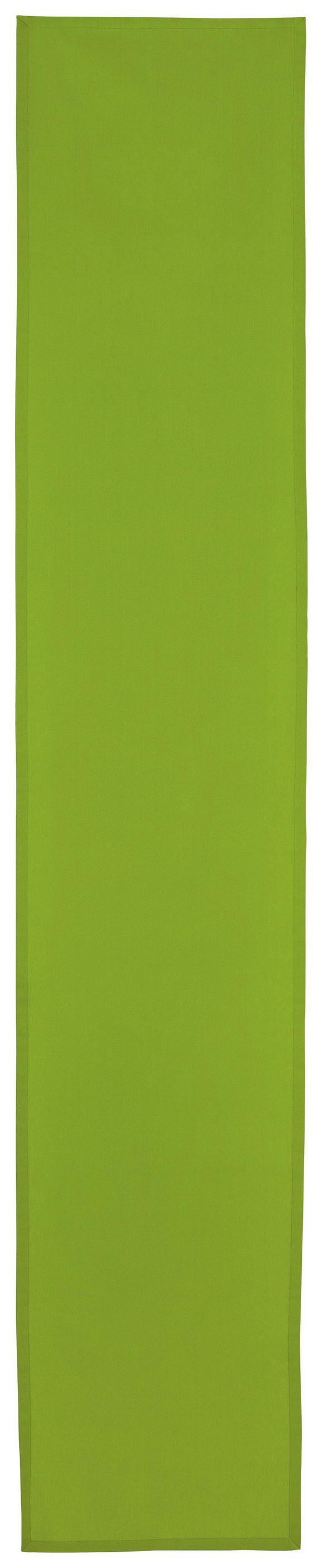 Asztali Futó Steffi Extra Méret - Zöld, Textil (45/240cm) - Mömax modern living