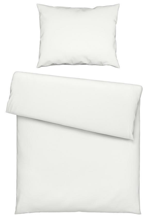 Bettwäsche Iris Weiß 140x200cm - Weiß, Textil (140/200cm) - Mömax modern living