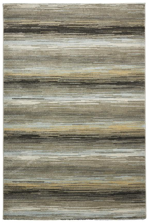 Webteppich Stripe Blau/grau 120x170cm - Blau/Grau, Textil (120/170cm) - MÖMAX modern living