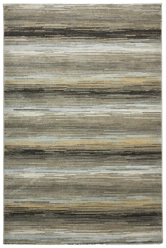 Webteppich Stripe in Bunt, ca. 160x230cm - Blau/Grau, Textil (160/230cm) - Mömax modern living