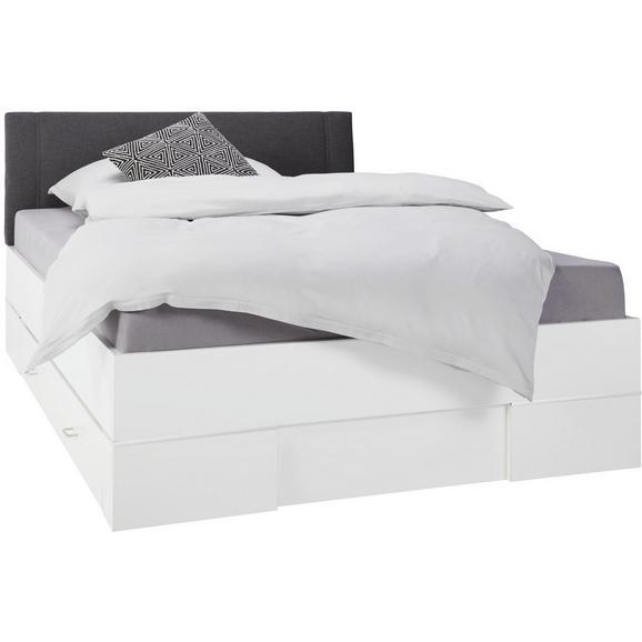 bett wei anthrazit 140x200cm online kaufen m max. Black Bedroom Furniture Sets. Home Design Ideas