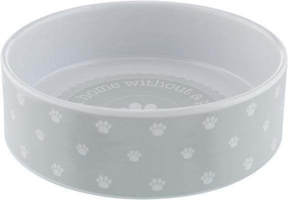 Posoda Za Hrano Patty - siva/bela, keramika (18/5,5cm) - Mömax modern living