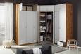 Omara Za Oblačila Case - aluminij, Moderno, umetna masa/leseni material (91/197/54cm) - Modern Living