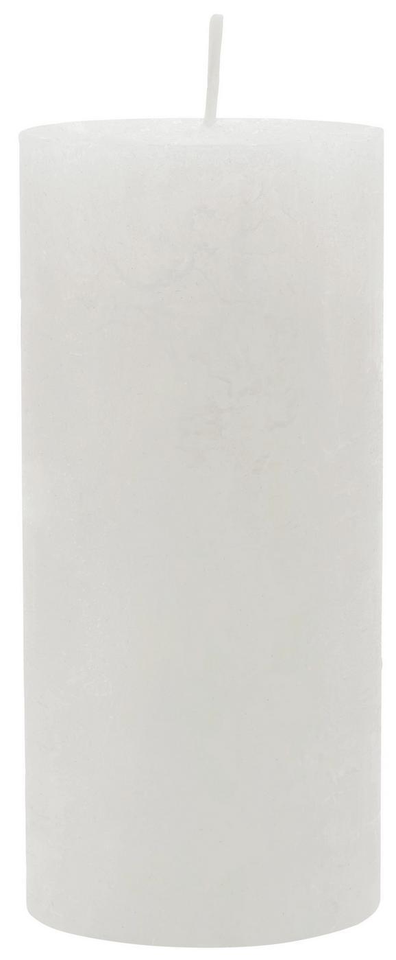 Tömbgyertya Lia - pezsgő szín, modern (6,8/15cm) - MÖMAX modern living
