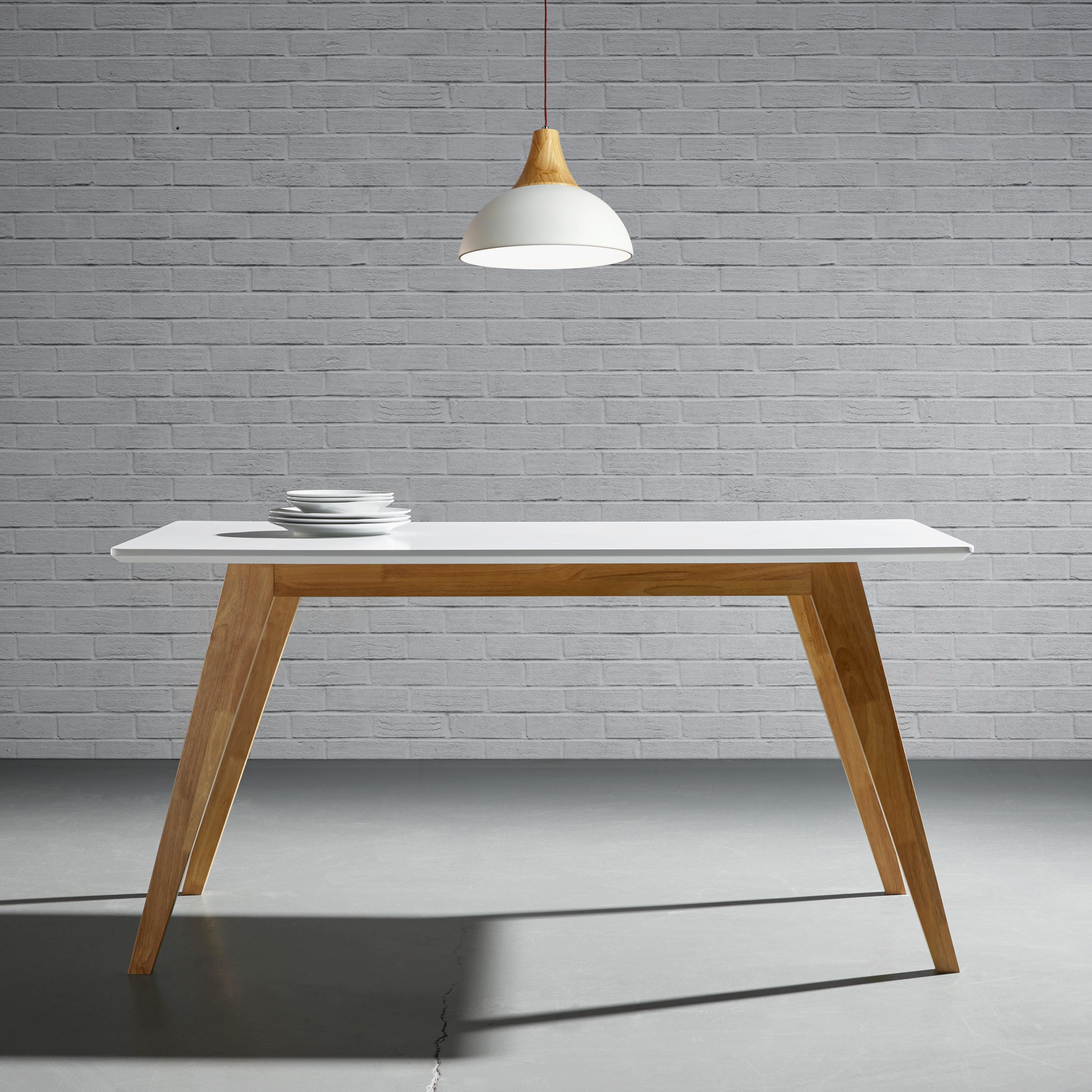 Esstisch holz grau weiss esstisch harry xcm modern holz for Eames nachbildung