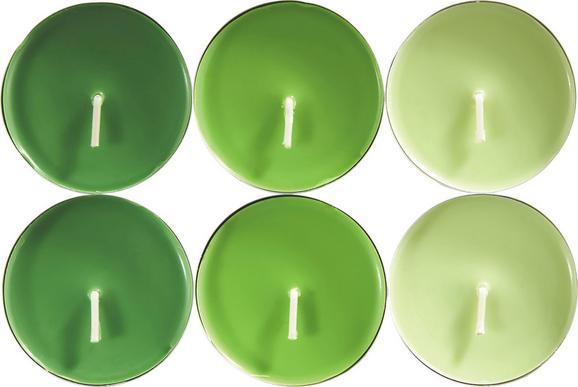 Teelicht Momo in verschiedenen Farben - Alufarben/Braun, Metall (5,9/2,4cm) - Mömax modern living