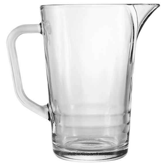 Glaskrug Sabrina ca. 1200ml - Klar, Glas (11/19cm) - Mömax modern living