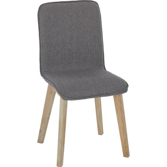 stuhl in grau eichefarben online kaufen m max. Black Bedroom Furniture Sets. Home Design Ideas