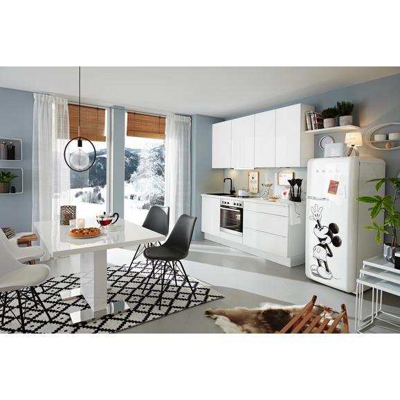 Küchenblock Fashion - Weiß, MODERN, Holzwerkstoff (215cm) - Nobilia