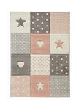 Kinderteppich Minnie Rosa 100x150cm - Rosa, Textil (100/150cm) - Mömax modern living
