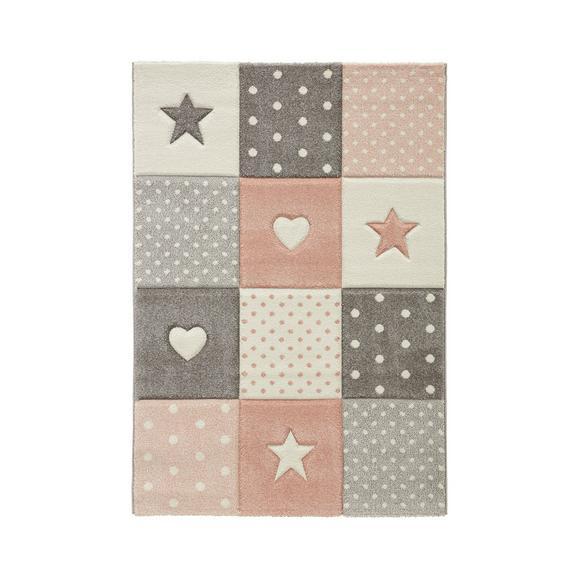Kinderteppich Minnie Rosa ca. 100x150cm - Rosa, Textil (100/150cm) - Mömax modern living