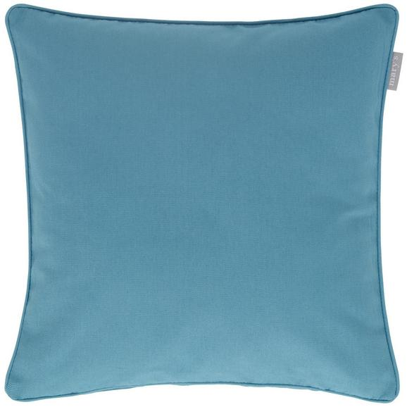 Kissenhülle Steffi Paspel, ca. 40x40cm - Blau, Textil (40/40cm) - Mömax modern living