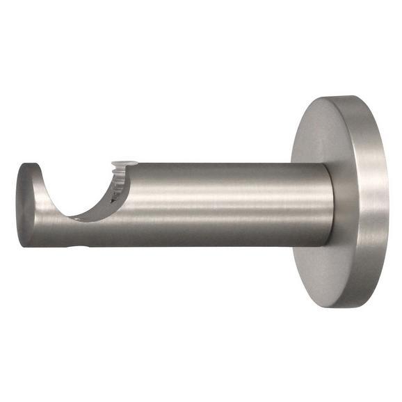 Träger Combi Edelstahlfarben - Edelstahlfarben, Metall (2cm) - Mömax modern living