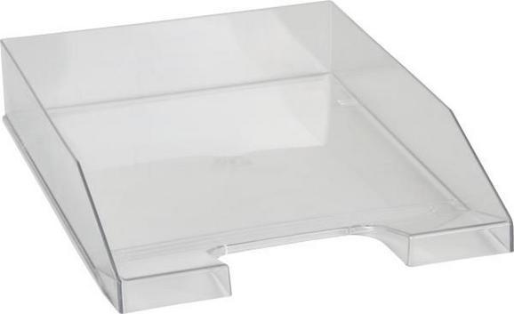 Irattartó Műanyag - Átlátszó, modern, Műanyag (25/35/6,4cm) - Mömax modern living