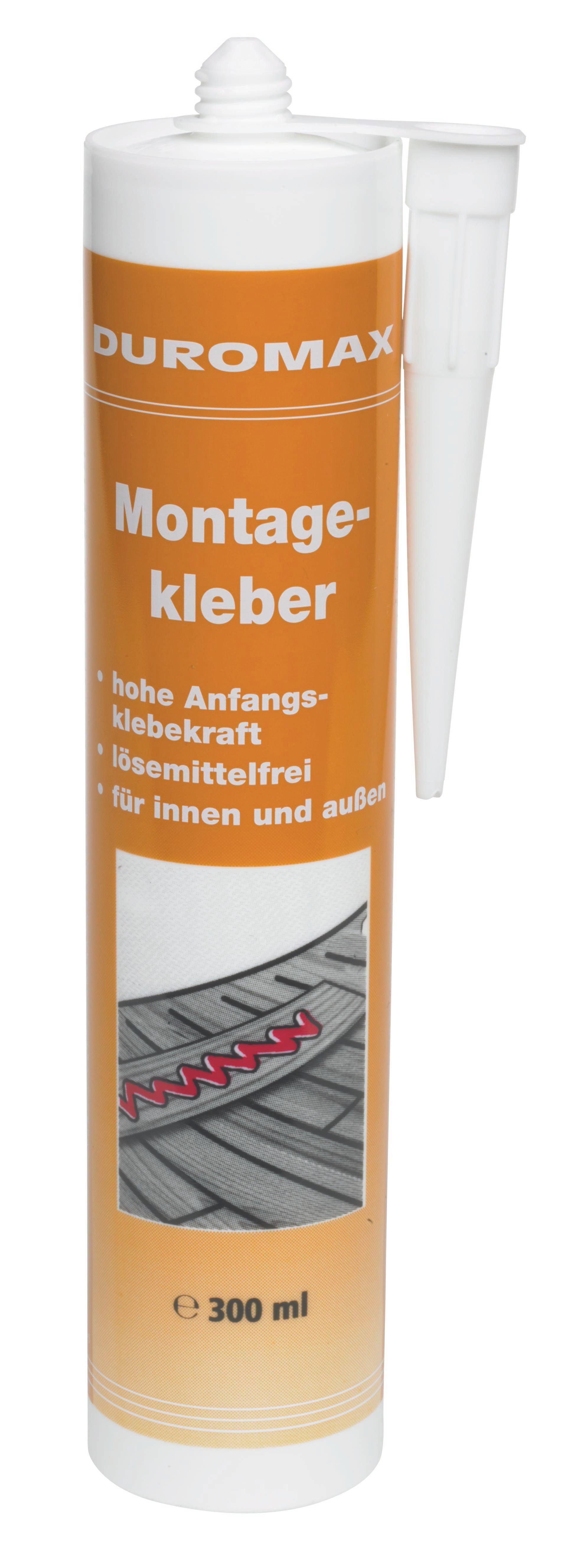 Montagekleber Moritz in Weiß - (0.31l)
