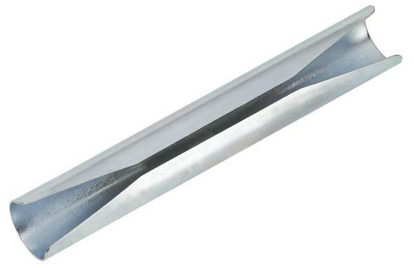 Rohrverbinder Leo 25mm - Silberfarben, Metall (12,1/1,8/1,8cm) - MÖMAX modern living