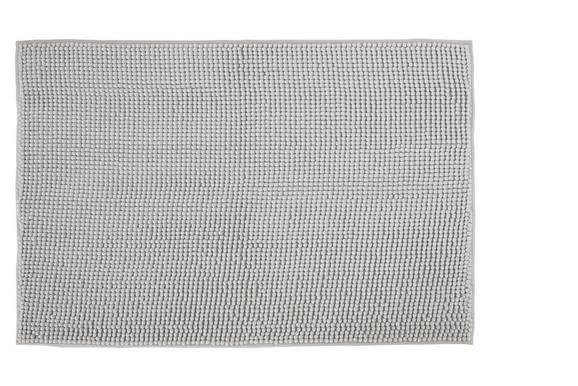 Badematte Nelly Silber - Silberfarben, Textil (60/90cm) - MÖMAX modern living