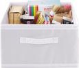 Aufbewahrungsbox Weiß - Weiß, Textil (31/20/33,5cm) - Mömax modern living