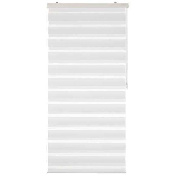 Rulou Zebră Thomas - alb, plastic/textil (80/160cm) - Premium Living