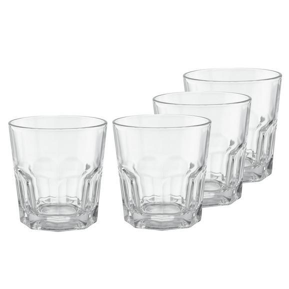Gläserset Mona 4-teilig - KONVENTIONELL, Glas (8,3/8,6cm)