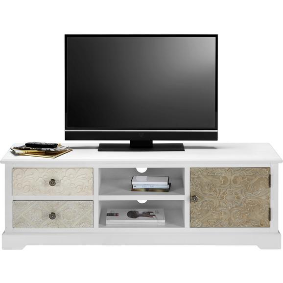 TV-Element in Multicolor 'Avery' - Multicolor, MODERN, Holz/Metall (140/45/40cm) - Bessagi Home