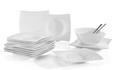 Dessertteller Tacoma in Weiß - Weiß, LIFESTYLE, Keramik (18,3/21cm) - Premium Living