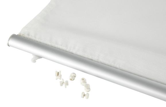 Lapfüggönysín Click - alu színű, fém (60cm) - MÖMAX modern living