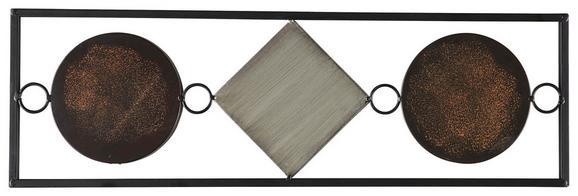 Wanddeko Waka, ca. 1,5x20x65cm - Multicolor, KONVENTIONELL, Metall (1,5/20/65cm) - Mömax modern living
